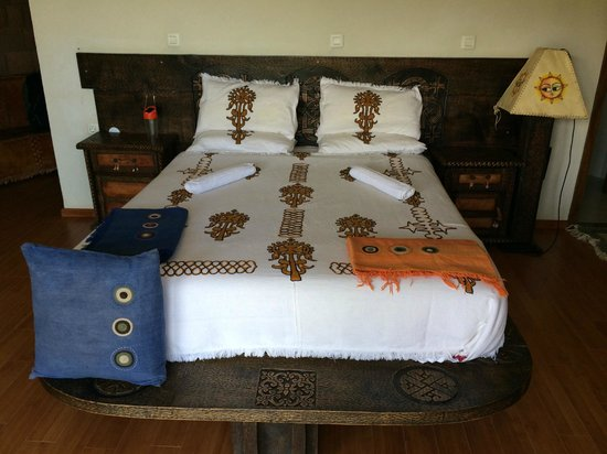 Tukul Village: Bed1