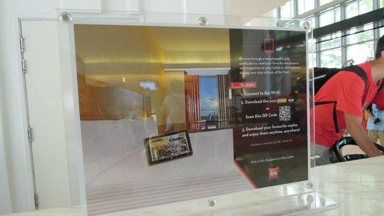 Ibis Singapore on Bencoolen: Hotel & grounds