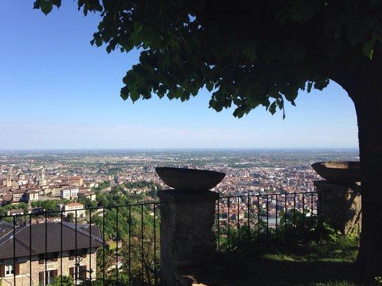 Funicolare San Vigilio : Vista dalla terrazza