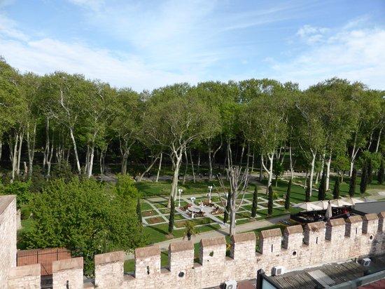 Sirkeci Mansion: Vista panoramica dall'attico