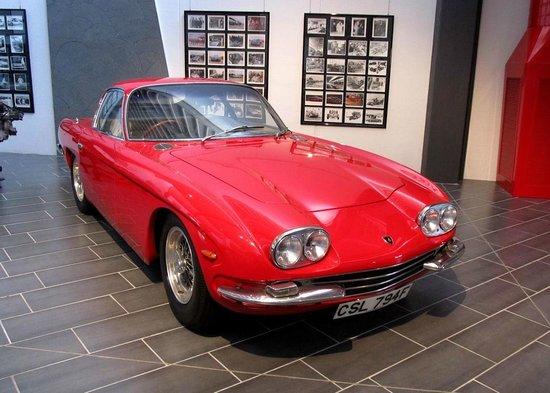 the first production car - picture of museo ferruccio lamborghini