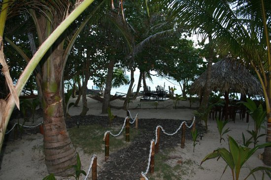 Little Corn Beach and Bungalow: View from our bungalow