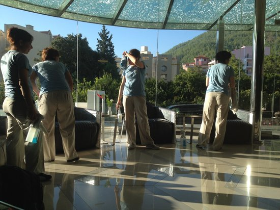 Casa De Maris Spa & Resort Hotel: Amazing cleaners the hotel was spotless!!
