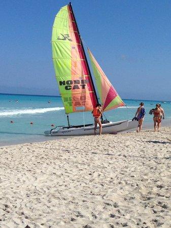 Hotel Palma Real: пляж