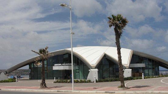 Outside Malta National Aquarium