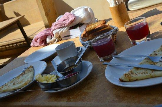 Jasmin Home: La colazione!