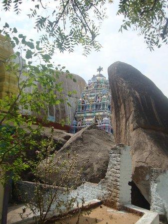 Sri Vidya Saraswathi Shani Temple: nacharam, temple gopuram