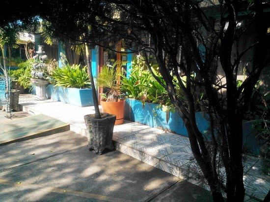 Hotel La Fragata : Nuestra fresca terraza