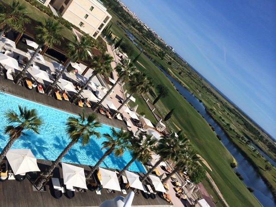 Anantara Vilamoura Algarve Resort: View from the Spa