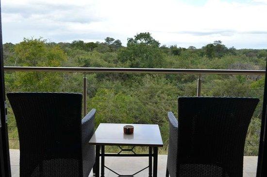 Kapama River Lodge: A vista de nosso quarto !!!