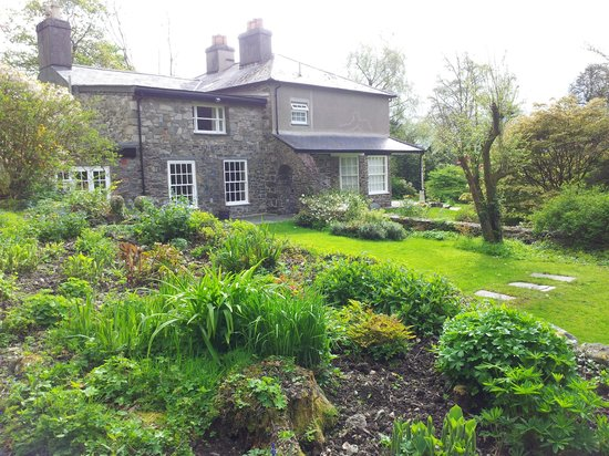 Abercelyn Country House from the garden