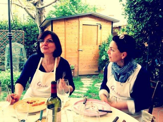 Toscana e Gusto : Stefania and Ana