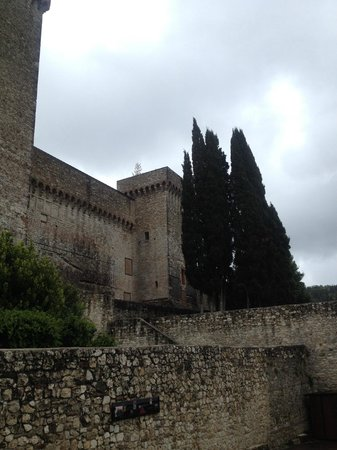 Rocca Albornoz di Narni : La rocca