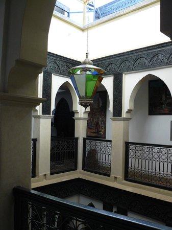 Ryad Laarouss: Intérieur du Ryad Laârouss