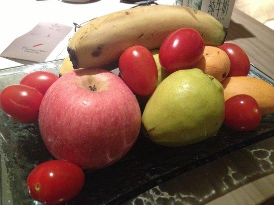 Christian's Hotel: Complimentary Fruit basket