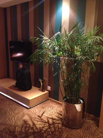 Christian's Hotel: Beautiful plant in the room