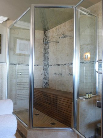 The Alexander: Double shower / steam room