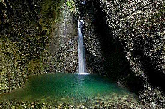 Kozjak Waterfalls: Kozjak waterfall