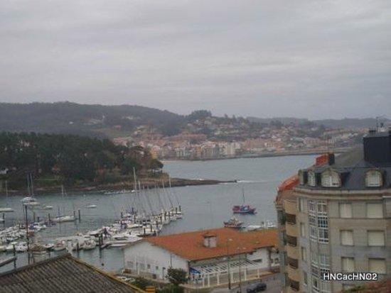 Hotel Nuevo Cachalote: Vista de Sanxenxo