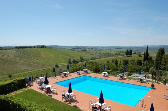 Hotel Belvedere Di San Leonino: Panorama