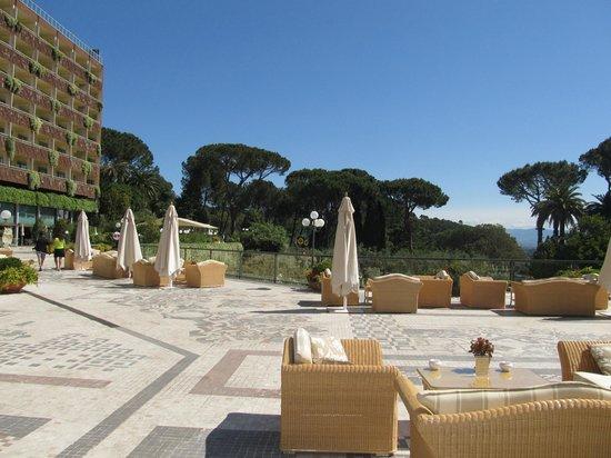 Rome Cavalieri, Waldorf Astoria Hotels & Resorts: Zona Verde