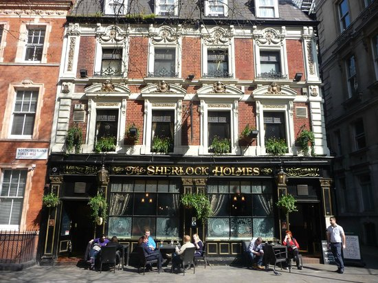 The Sherlock Holmes Public House & Restaurant : Sherlock Holmes Pub