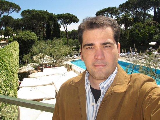 Rome Cavalieri, A Waldorf Astoria Resort : Piscina