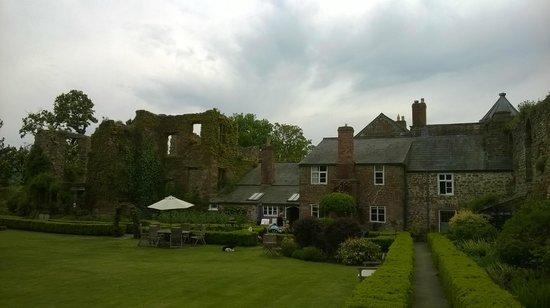 Wilton Castle: Here you drink tea!