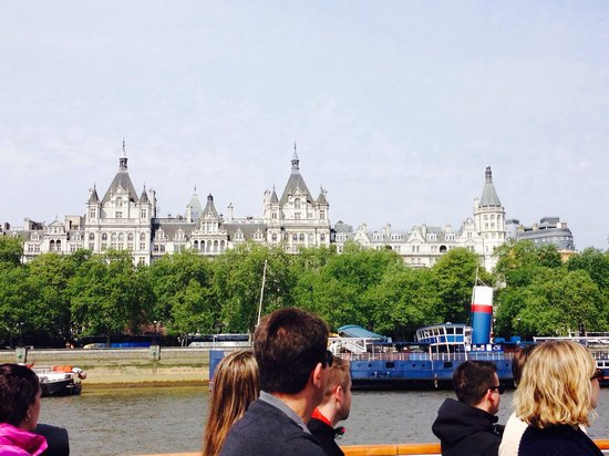 The Royal Horseguards: View of hotel from thames