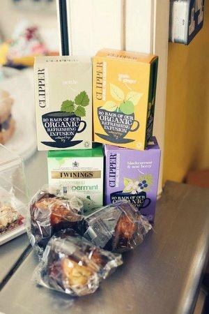 Harlington, UK: Selection of herbal teas