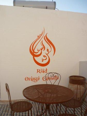 Riad Orange Cannelle : Graphisme superbe!