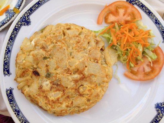 Restaurante La Zoca SC.: Spanish Omelette