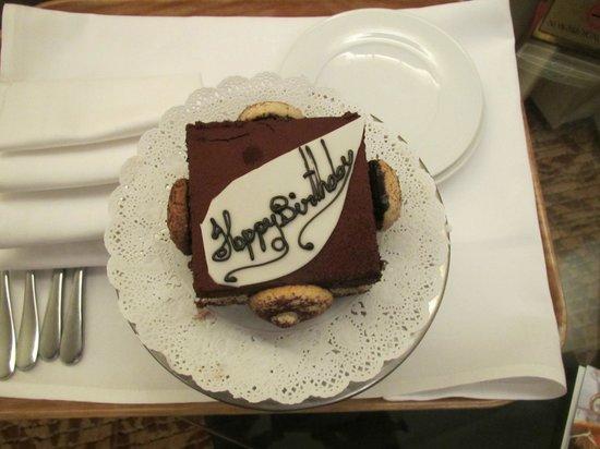 Rembrandt Hotel Bangkok: Geburtstagsgruß des Hotels
