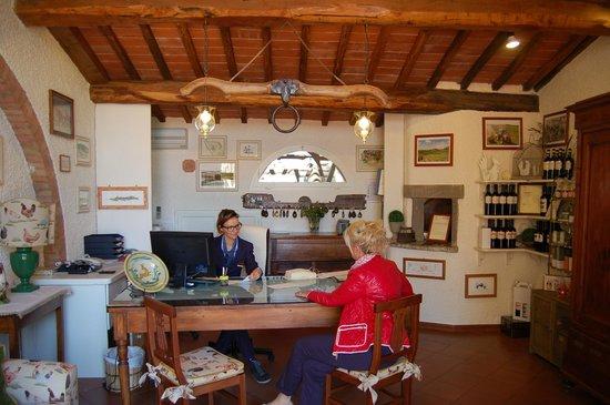 Hotel Belvedere Di San Leonino: Recepion