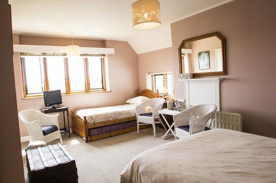 Fern Lodge: Room 4 Family Ensuite