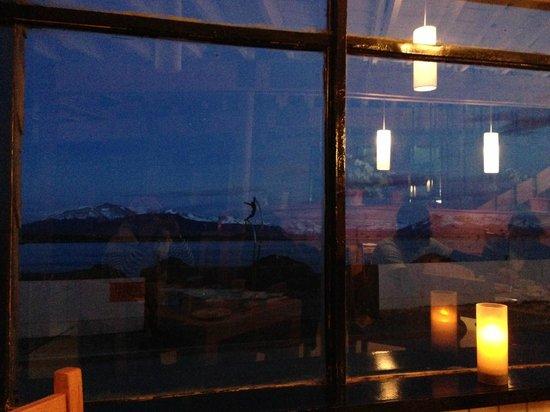 Noi Indigo Patagonia: Vista desde el restaurante