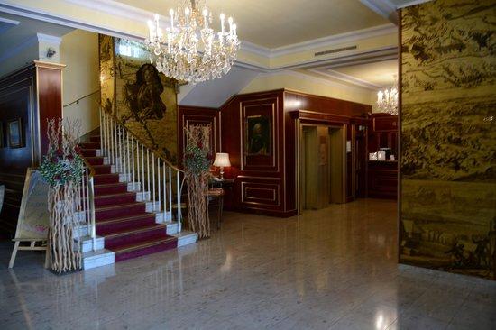 Novum Hotel Prinz Eugen Wien: Hotel Lobby