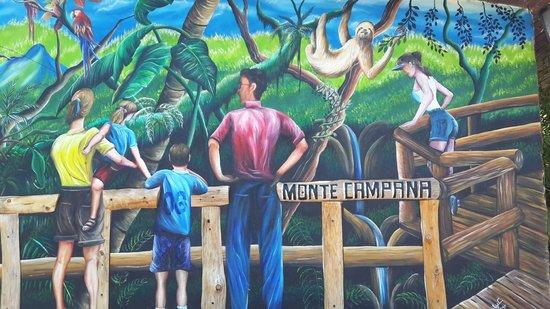 Hotel Monte Campana: Área de recepción