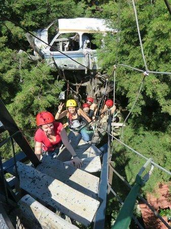 Hotel Monte Campana: Canopy