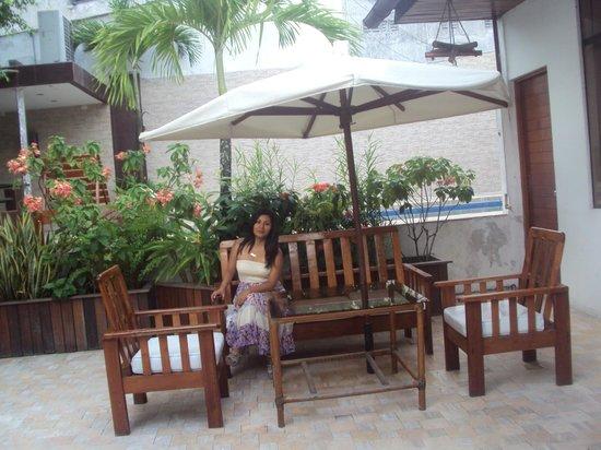 Amazon Apart Hotel: En la terraza :D