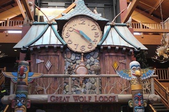 Great Wolf Lodge: Main area