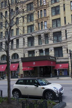 The Pfister Hotel: From across the street