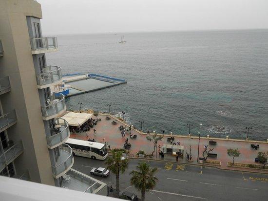 Preluna Hotel & Spa : Schöner Meerblick aus dem 7. Himmel