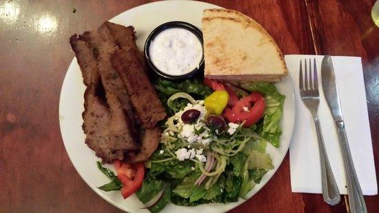 Artemis Mediterranean Grill: The Gyros Plate
