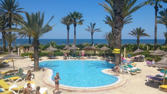 Houda Golf and Beach Club: Another pool shot.