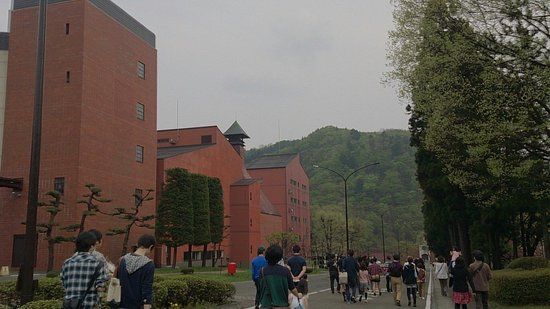 Nikka Whisky Sendai Factory Miyagikyo Distillery: 宮城卿のなかにあります。