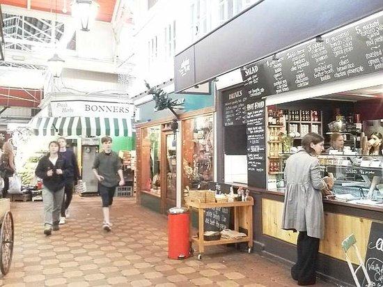 Oxford Covered Market : my favorite salada shop