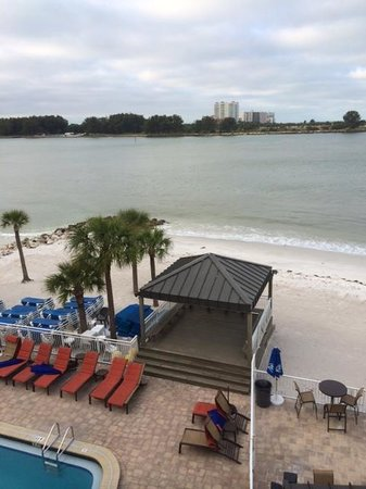 Quality Hotel On the Beach: view from 422 south