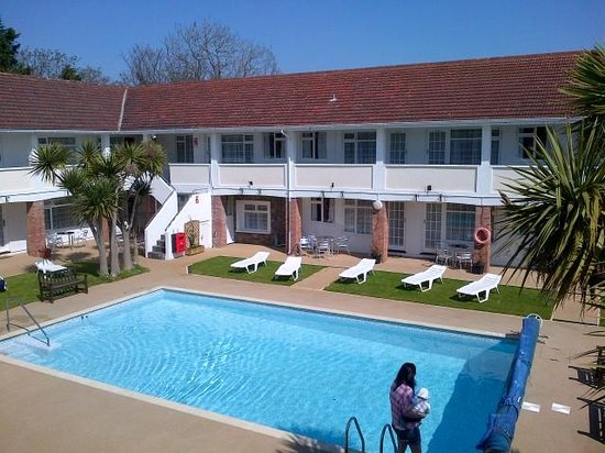 Del Mar Court Self Catering Apartments: View from Balcony