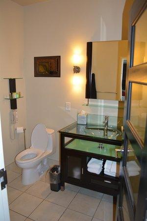 Sterling Inn & Spa : Toilet